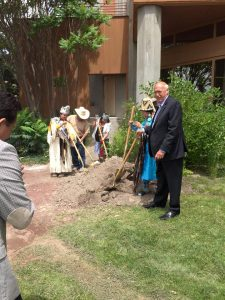 Warm Springs Tribal Council and Warm Springs Ventures groundbreaking